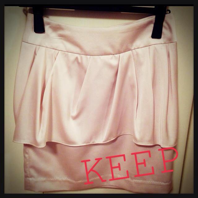 MERCURYDUO(マーキュリーデュオ)のmercuryduo♡ペプラムSK レディースのスカート(ミニスカート)の商品写真