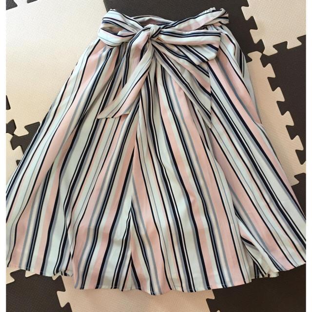 tocco(トッコ)のtocco closet マルチストライプスカート レディースのスカート(ひざ丈スカート)の商品写真