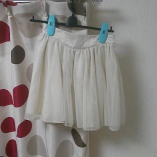 ローリーズファーム(LOWRYS FARM)のローリーズのチュールスカート♪(ミニスカート)