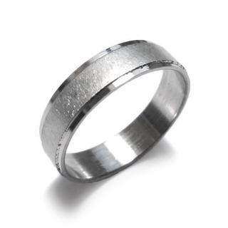 ☆新品☆22号ステンレスリング 指輪 シンプル(リング(指輪))