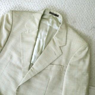 バーバリー(BURBERRY)の良品 バーバリー Burberrys ジャケット チェック 春夏  肩パッド (テーラードジャケット)