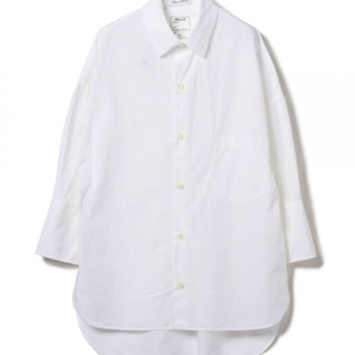 マディソンブルー(MADISONBLUE)のMADISONBULE / J.BRADLEY Cuff Shirt ホワイト(シャツ/ブラウス(長袖/七分))