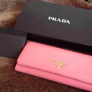 プラダ(PRADA)のPRADAサフィアーノ財布(財布)