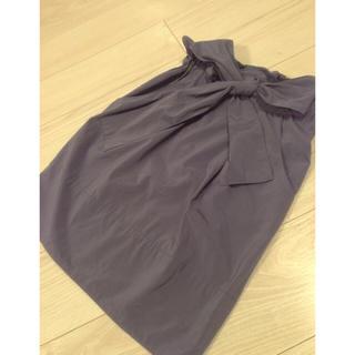 ランバンオンブルー(LANVIN en Bleu)のランバンオンブルー♡リボンスカート(