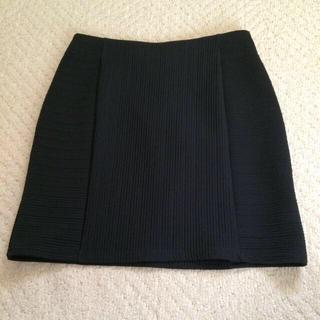 イング(INGNI)の後ろジップタイトスカート(ミニスカート)