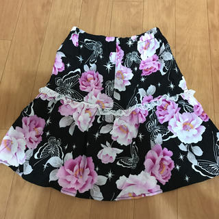 シマムラ(しまむら)の浴衣パンツ付きスカート140(甚平/浴衣)