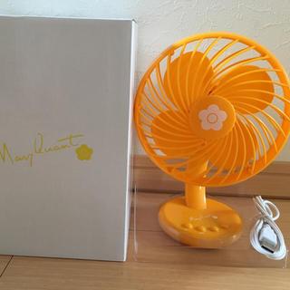 マリークワント(MARY QUANT)のMARYQUANT卓上扇風機(扇風機)