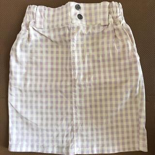 レイカズン(RayCassin)のRayCassin  ギンガムチェック タイトスカート(ひざ丈スカート)