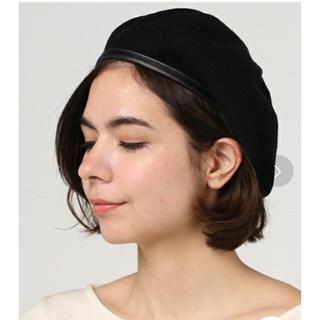 スピンズ(SPINNS)のパイピングサーモベレー(ハンチング/ベレー帽)