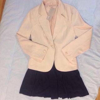 ユメテンボウ(夢展望)の新品♡ジャケット&スカートset(テーラードジャケット)