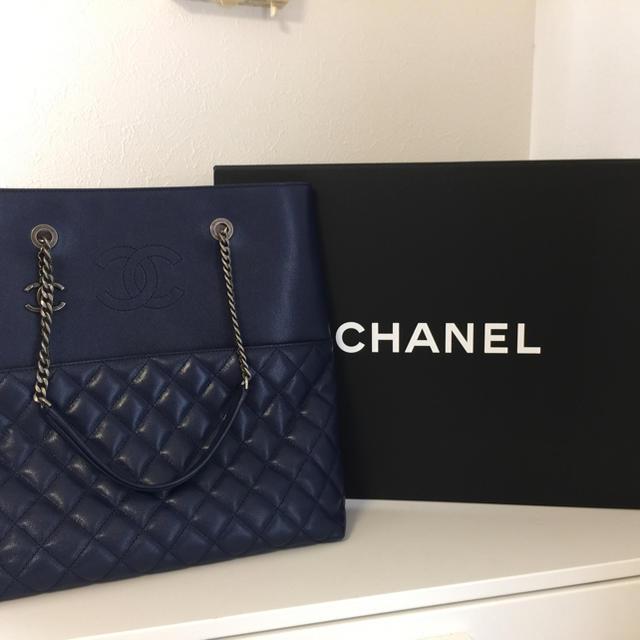 CHANEL(シャネル)のシャネル マトラッセ ブルー レディースのバッグ(ショルダーバッグ)の商品写真