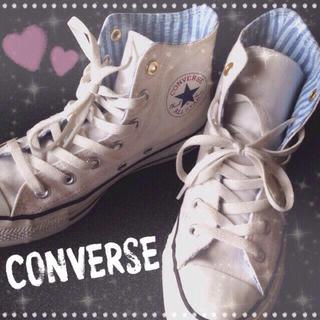 コンバース(CONVERSE)のCONVERSE♡ハイカットスニーカー(スニーカー)