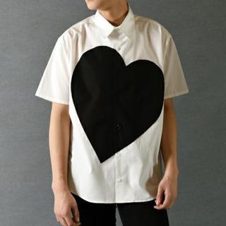 ミルクボーイ(MILKBOY)のミルクボーイ ハートシャツ MILKBOY ZOZO完売品(シャツ)