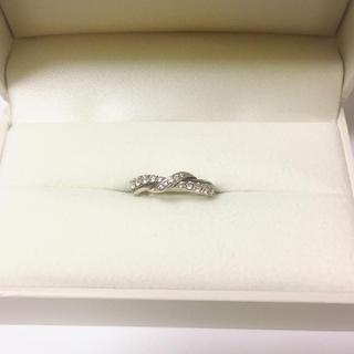 ヨンドシー(4℃)の4℃♡k10シルバー♡ダイヤモンドリング(リング(指輪))