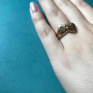 マークジェイコブス(MARC JACOBS)のマークジェイコブ二連指輪(リング(指輪))