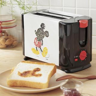 ディズニー(Disney)のミッキーマウスポップアップトースター(調理機器)