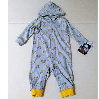 シマムラ(しまむら)の新品タグ付き 銀魂 ベビー服 カバーオール エリザベス 身長70-80 コラボ(カバーオール)