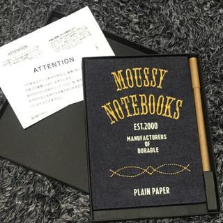 マウジー(moussy)のmoussy☆ノベルティ ノート×ペン(その他)