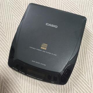 カシオ(CASIO)のCASIO ポータブル CDプレイヤー(ポータブルプレーヤー)
