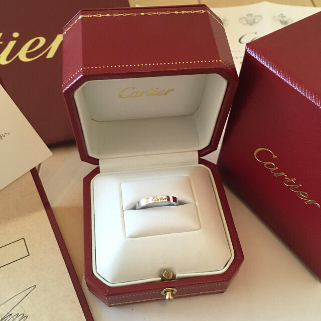 Cartier(カルティエ)の☆あいす☆4227様専用💗  カルティエリング&ジミーチュウスニーカー レディースのアクセサリー(リング(指輪))の商品写真