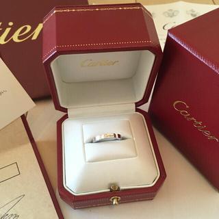 カルティエ(Cartier)の☆あいす☆4227様専用💗  カルティエリング&ジミーチュウスニーカー(リング(指輪))