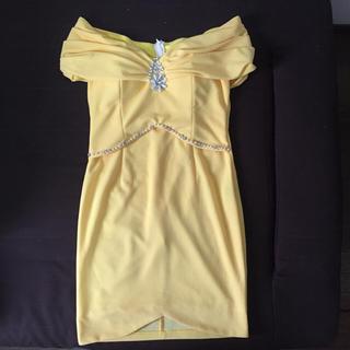 デイジーストア(dazzy store)のオフショルタイトミニドレス(ナイトドレス)