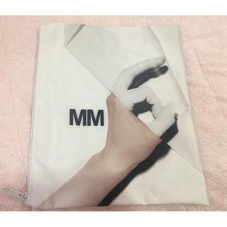 エムエムシックス(MM6)の【新品】iPad Airも余裕で入る!MM6メガポーチ(iPadケース)