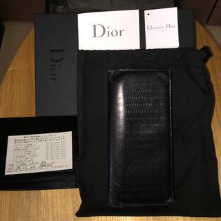 ディオール(Dior)のDior HOMME 長財布 中古(長財布)