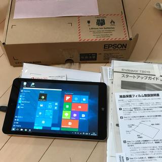 エプソン(EPSON)のWindowsタブレット EPSON TB01S オフィス付 送料込(タブレット)