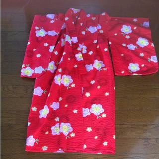 シマムラ(しまむら)の女児浴衣  100センチ(甚平/浴衣)
