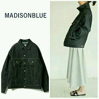 マディソンブルー(MADISONBLUE)の綺麗め マディソンブルー ビッグ デニムジャケット  ロンハーマン (Gジャン/デニムジャケット)