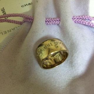 メゾンドリーファー(Maison de Reefur)のjupiter SVメッセージリング(リング(指輪))