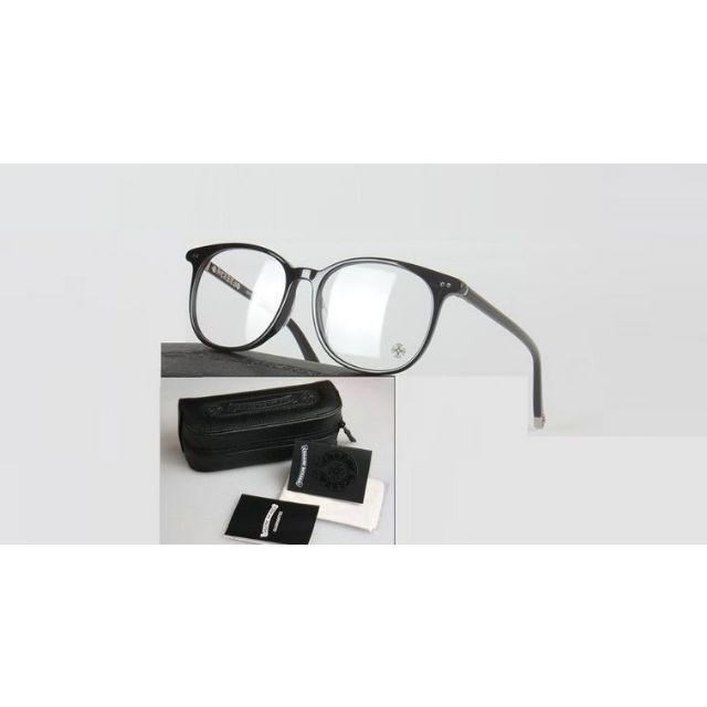 Chrome Hearts(クロムハーツ)の最高質新品クロムハーツ男女兼用メガネMOTHE RFUNGIS黒 レディースのファッション小物(サングラス/メガネ)の商品写真