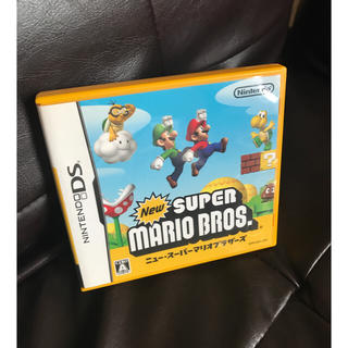 ニンテンドウ(任天堂)の任天堂DSソフト  スーパーマリオブラザーズ(携帯用ゲームソフト)