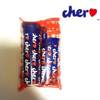 シェル(Cher)の新品 未使用 未開封 cher シェル ライター&携帯灰皿 ブルー(タバコグッズ)