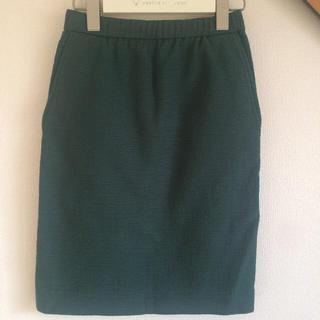 ニジュウサンク(23区)の23区 小さいサイズ スカート 春夏(ひざ丈スカート)