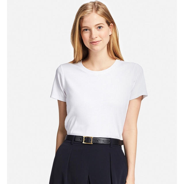 UNIQLO - スーピマコットンクルーネックTの通販 by mean's shop ...