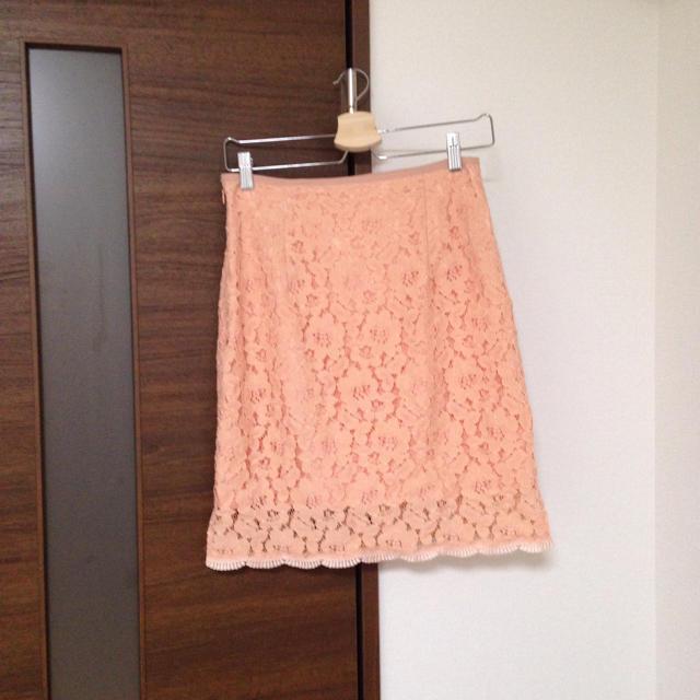 PROPORTION BODY DRESSING(プロポーションボディドレッシング)のプロポ レーススカート レディースのスカート(ひざ丈スカート)の商品写真