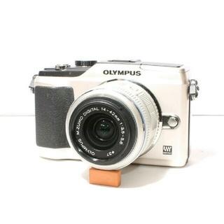 オリンパス(OLYMPUS)の★入門に最適★届いてすぐに★OLYMPUS E-PL2 レンズキット(ミラーレス一眼)