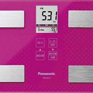 パナソニック(Panasonic)の体組成計のるだけID値下げ‼️(体重計/体脂肪計)