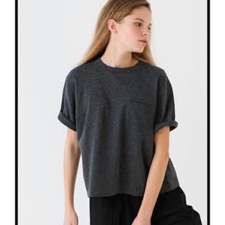 コモリ(COMOLI)のcomoli  裏毛半袖スウェット Tシャツ(Tシャツ(半袖/袖なし))