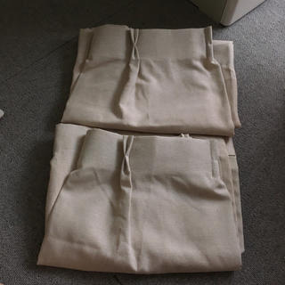 ムジルシリョウヒン(MUJI (無印良品))の無印良品 きなりカーテン(カーテン)