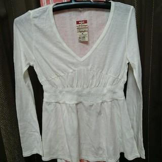 ムジルシリョウヒン(MUJI (無印良品))の無印のVネックシャツ(Tシャツ(長袖/七分))