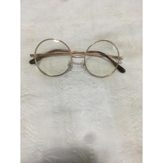 丸メガネ レディースのファッション小物(サングラス/メガネ)の商品写真