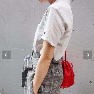 イエナ(IENA)のbeaucadeauさまIENA チャンピオン グレー Tシャツ(Tシャツ/カットソー(半袖/袖なし))