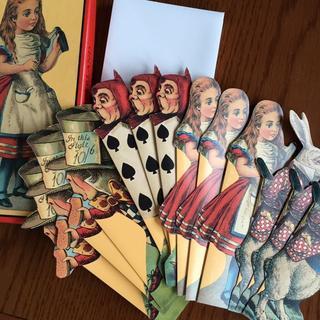 モマ(MOMA)の不思議の国のアリス・グリーティングカード12枚セット★MOMA★(カード/レター/ラッピング)