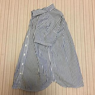 ムジルシリョウヒン(MUJI (無印良品))の無印良品 ストライプシャツ(シャツ/ブラウス(半袖/袖なし))