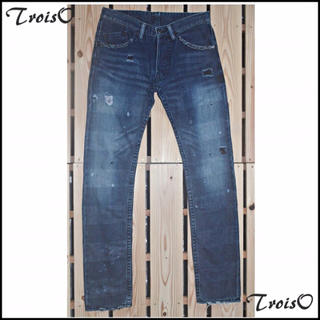 トロワゾ(TroisO)のTroisO トロワゾ デニム 29インチ(デニム/ジーンズ)