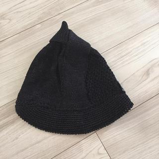 ヴィヴィアンウエストウッド(Vivienne Westwood)の新品タグ 未使用 Vivienne Westwood 綿混可愛い変形編み帽子 (その他)