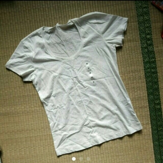 ムジルシリョウヒン(MUJI (無印良品))の無印良品Uネック半袖Tシャツ(Tシャツ(半袖/袖なし))